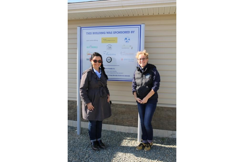 Sara e rappresentante Enel Romania