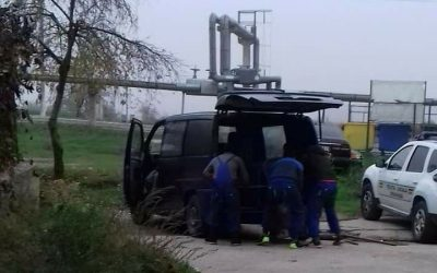 Da venerdì scorso 24 Novembre sono riapparsi gli accalappiacani per le strade di Cernavoda