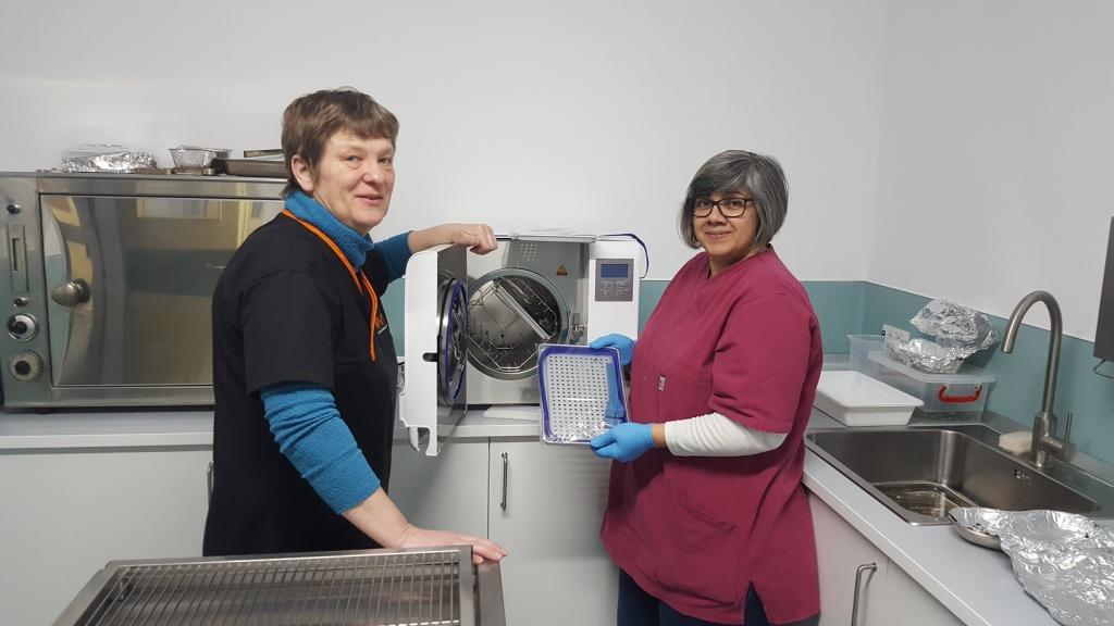 Un nuovo sterilizzatore per la nostra clinica